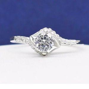 Jewelry - NWOT .64 Diamond Cut White Sapphire Ring
